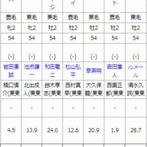 土曜 中京4R メイクデビュー中京 予想