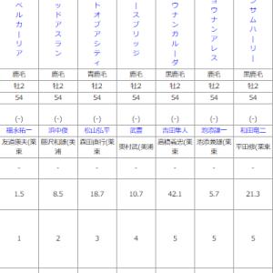 日曜中京5R メイクデビュー中京 予想