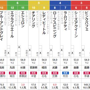 日曜新潟2R 2歳未勝利 予想 ~ミルファームの運動会ですよ!~