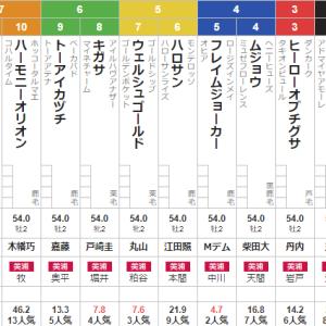 土曜中山4R メイクデビュー中山 予想