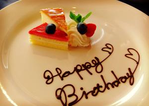 お誕生日はホテルブッフェへ♪