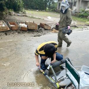 【ニッキ】水害の後の 2