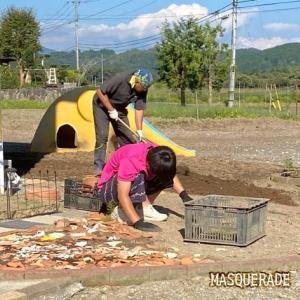 【ニッキ】花畑の土作り