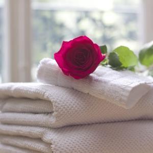 家事の動線(洗濯・収納)を考える 乾燥機から出したタオルはその場でたたんでしまう