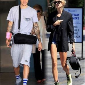 【連日の点滴装着が深刻…!?】ジャスティン・ビーバーとヘイリー・ビーバーがLAでお出かけ!Justin Bieber and Hailey Baldwin are spotted out in LA