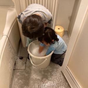 5歳3ヶ月、トイレで初ウンチ!(7月記録)