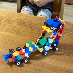 LEGO嫌い年長息子、LaQは好き