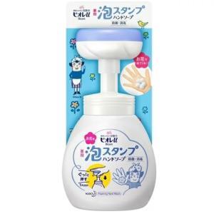 手洗い用の泡スタンプ(肉球)