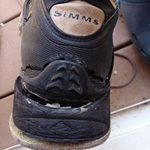 シムスのブーツ