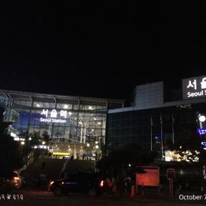 今夜、ソウルに到着〜明日は地上軍フェスティバルへ行く予定です❣️