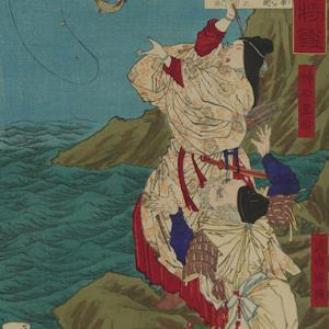 神功皇后伝承(鮎釣り)