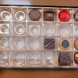 チョコレート食べすぎ