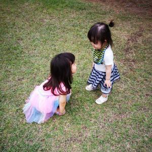 ☆三女2歳☆散歩