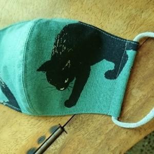 黒猫マスク、再販できそうです