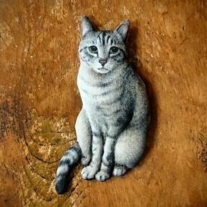 優し気な顔つきの猫さん