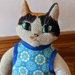 猫人形久々