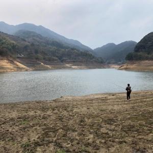 南畑ダムへバス釣りに出掛けました