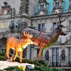 クリスマスマーケットが始まっていました