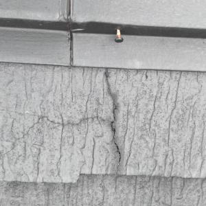 スレート屋根蜘蛛の巣状の割れ〜相模原・町田の外壁屋根・水廻りリフォーム