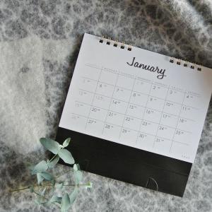 セリアで決めた!来年のカレンダー♪とやっぱり無印にしたモノ♪