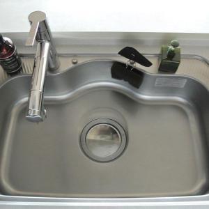 【セリア】梅雨前に♪さらに進化したキッチンシンクで掃除しやすく快適に!