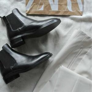 ZARA購入品☆念願の今年ブーツ買いました♩