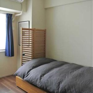 【楽天】50%OFF戦利品!で寝室の模様替え♩と極上のガーゼケット「OMUTI」♩