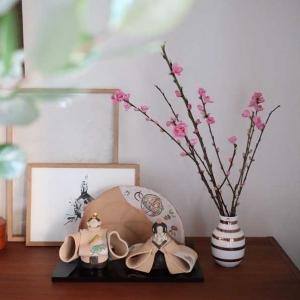 日本限定*オマジオ チェリーピンク販売!とわが家の雛人形の飾り方☆