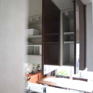 収納*IKEA+無印でシンデレラフィット!キッチン吊戸棚をついに空っぽに!