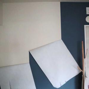 貼ってはがせる壁紙を剥がしてみた結果、その2