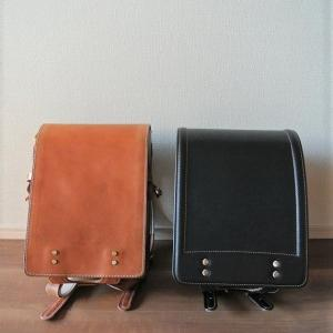 1年目と4年目の土屋鞄のランドセル