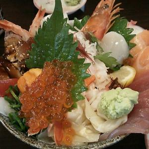 大名庵で豪華 海鮮丼を堪能!