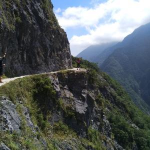 スリル満点!太魯閣(タロコ)錐麓古道ハイキング