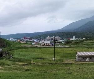 利尻島 サイクリングで一周