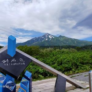 利尻島 姫沼までサイクリング