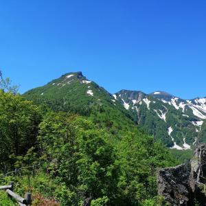 大雪山黒岳 層雲峡から7合目で断念