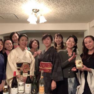 女子大時代のESS英語部の仲間と新年会♪