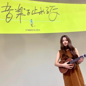 今日はシンガーのfumikaさんのライブでした!