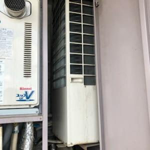 変わったエアコンの交換工事