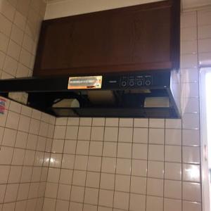 キッチン換気扇、レンジフード交換工事