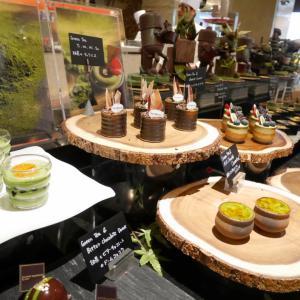ウェスティンホテル東京「ザ・テラス」抹茶デザートブッフェ(2018.6)