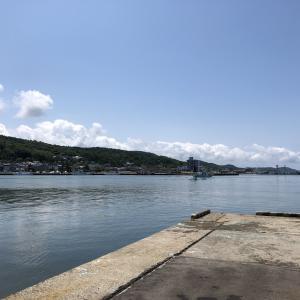 連休2日目、ストレス解消に海釣りしました。