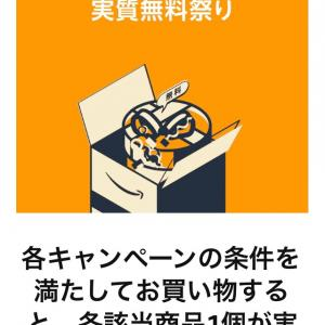 Amazon実質無料キャンペーンがお得!