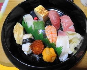 特上寿司を食べられるというのは、幸せの極みだと思う