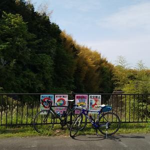 1時間の自転車と近所ツーリング