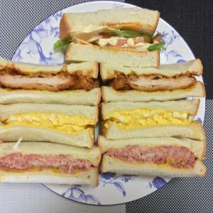 サンドイッチを作り過ぎた