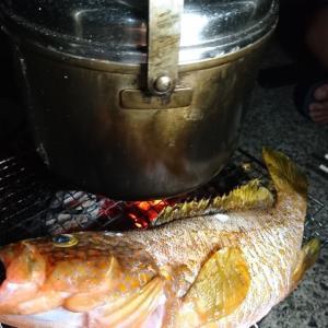 今年最後の魚突き&キャンプ