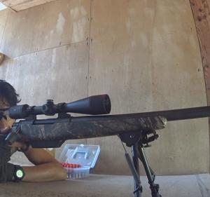 初のハンドロード50口径弾射撃