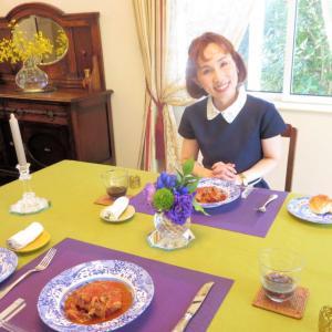 ダンシャリアンのおもてなし♡テーブルコーディネートとおもてなし料理。
