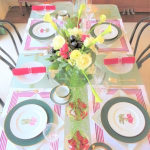 春野菜を愛でるランチタイム。『テーブルコーディネート教室』